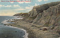 Beach Along Mohegan Bluffs, Block Island, R.I. (12659456225).jpg