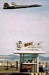Beale AFB Main Gate - 1966.jpg