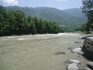 Beas River - The Beas River in Himachal Pradesh