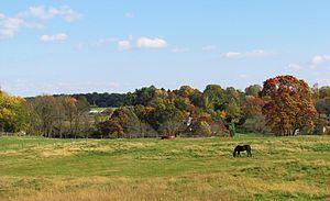 Beaver Valley, Delaware and Pennsylvania - A vista in Beaver Valley, Pennsylvania