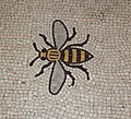 Bee mosaic in Manchester Town Hall floor - geograph.org.uk - 1128600.jpg