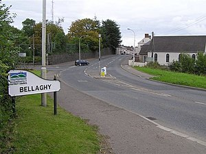 Bellaghy - Image: Bellaghy Village geograph.org.uk 569714