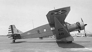 3d Troop Carrier Squadron - Bellanca C-27C