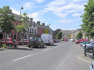 Belleek, County Fermanagh - Belleek town centre, 2006