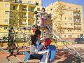 Benimamet - Niñas jugando en el Parque Camales.JPG