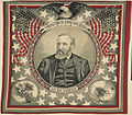 "Benjamin Harrison ""Protection to Home Industries"" Portrait Textile (4359431569).jpg"