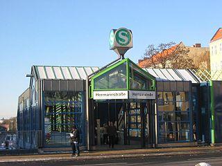 railway station in Berlin, Germany