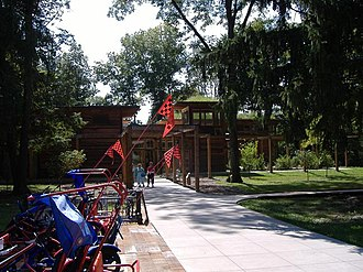 Bernheim Arboretum and Research Forest - New Visitor Center