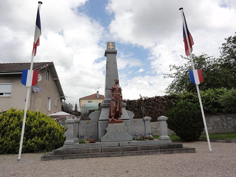 Bertrichamps (M-et-M) monument aux morts