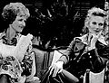 Betty White Cloris Leachman Mary Tyler Moore Show 1973.JPG