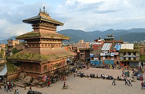 Bhaktapur District - Image: Bhairavnath Temple at Bhaktapur city of Devotees, NEPAL 02
