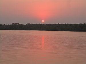 Bhitarkanika Mangroves - Bhitarkanika sunset