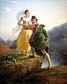 Bianca Cappello et son amant fuyant vers Florence à travers les Apennins - Jean-Louis Ducis-MBA Lyon 2014-02.jpeg