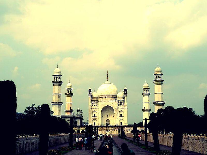 File:Bibi Ka Maqbara at Aurangabad Maharashtra.jpg