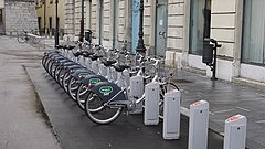 Bicikelj - automatic bike rental system
