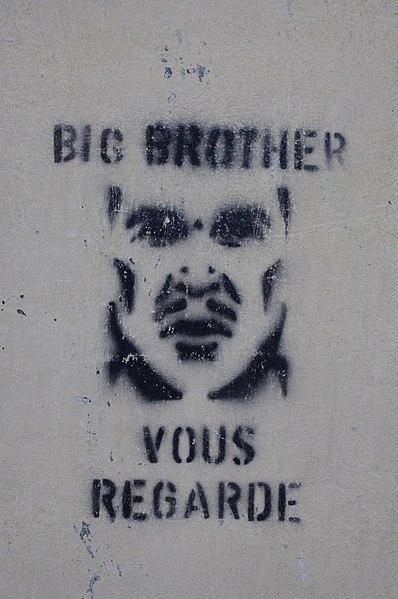 File:Big Brother graffiti in France.JPG