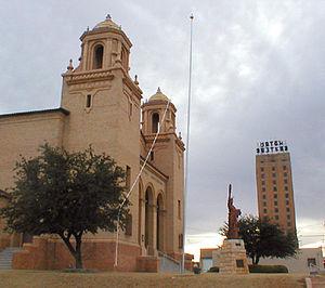 Big Spring, Texas - The Municipal Auditorium in Big Spring