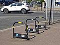 Bike rack in Lordship Lane, Tottenham, London, England 1.jpg
