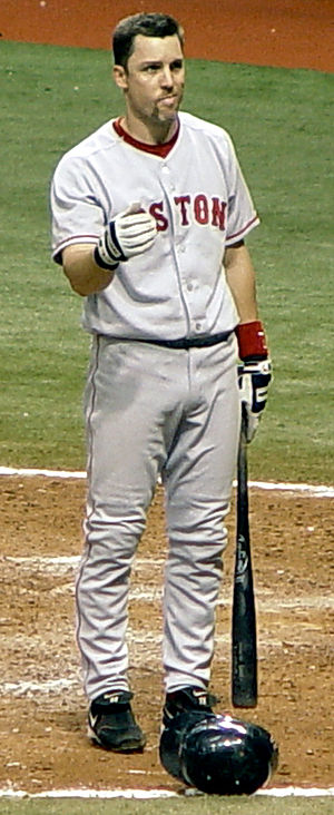 Bill Mueller - Mueller with the Boston Red Sox in September 2005