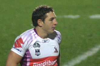 Billy Slater - Slater playing for the Storm in August 2008.
