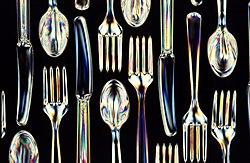 Plastic Kitchen Utensils Set