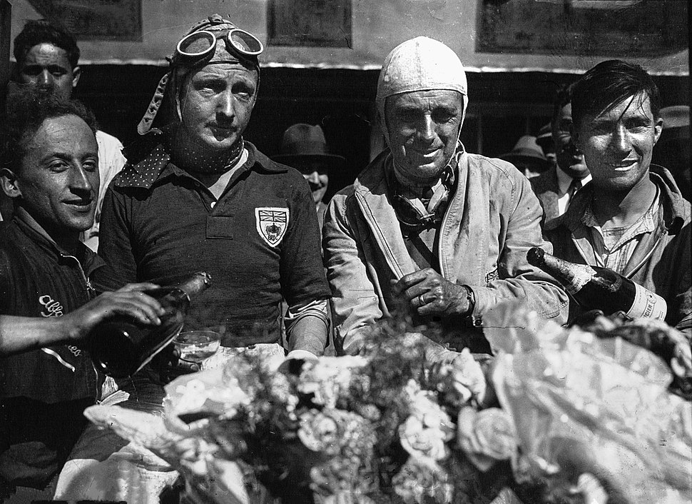 Birkin and Howe at the 1931 24 Hours of Le Mans