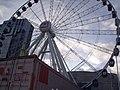Birmingham Big Wheel - backed by the Hyatt Hotel (4104341686).jpg