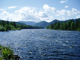 Biya River - Image: Biya River