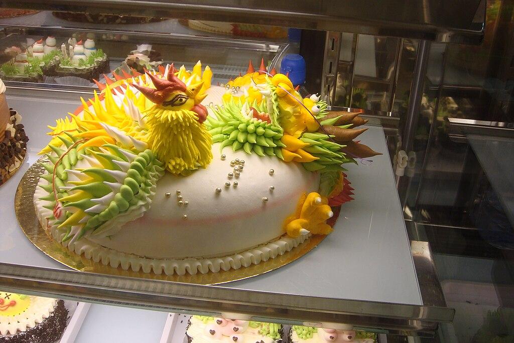 Chinese Cake Decorations