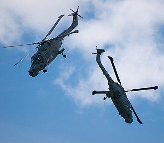 Black Cats (Royal Navy) - Image: Black Cats flying down