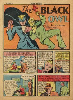 Black Owl in Prize Comics no2.jpg