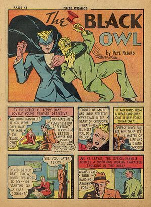 Black Owl - The Black Owl, 1940