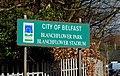 Blanchflower Park sign, Belfast - geograph.org.uk - 1766211.jpg