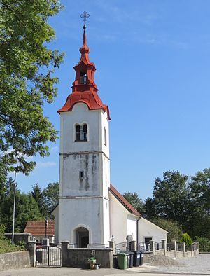 Blatna Brezovica - Saint James' Church