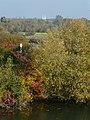 Blick von der Lippe zur Pfarrkirche St. Stephanus, Heessen - panoramio.jpg