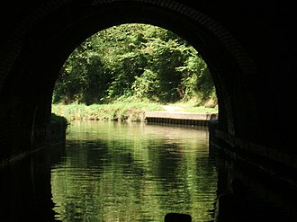 Blisworth - Image: Blisworth Tunnel, North Entrance from inside tunnel geograph.org.uk 272567