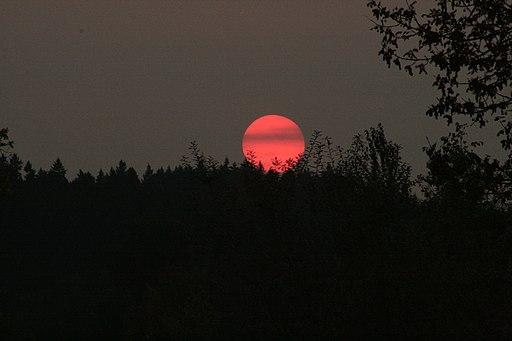 Blood Red Sunset - panoramio
