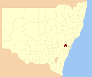 City of Blue Mountains Local government area in New South Wales, Australia