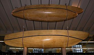 William Froude - The hulls of Swan (above) and Raven (below) on display in the Science museum, London