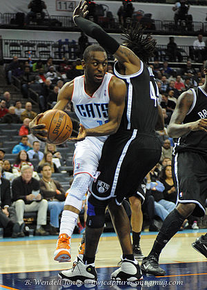 Kemba Walker - Walker defended by Gerald Wallace in 2013.