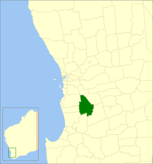Shire of Boddington - Location in Western Australia