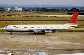Agadir air disaster - Image: Boeing 707 321C, Alia Royal Jordanian Airline AN1063692