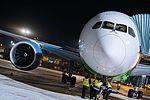 Boeing 787 Dreamliner at Riga Airport (32119236170).jpg
