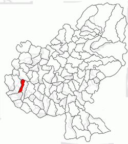 Location of Bogata
