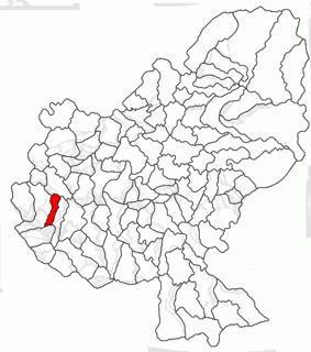 Bogata, Mureș Commune in Mureș, Romania