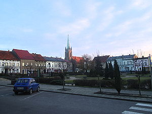 Bojanowo - Main Square