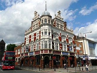 Green Street, Newham - The Boleyn Tavern on the corner of Green St and Barking Road