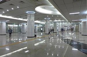 Bongeunsa Station - Image: Bongeunsa Station Concourse 201604