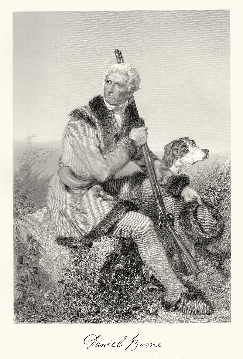 Elderly Daniel Boone Image Two