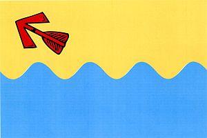 Boršov nad Vltavou - Image: Boršov nad Vltavou vlajka